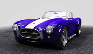 shelby cobra 3ds
