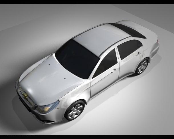 chevrolet epica sedan 3d 3ds