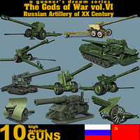 The Gods of War vol.VI - Russian Artillery of XX Century
