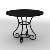 3ds max antique table