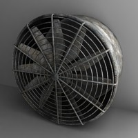 fan large 3d dxf