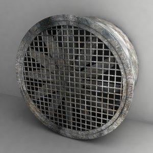 3d large fan
