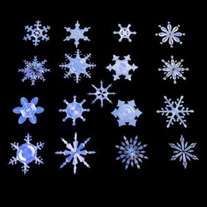 snowflakes holiday 3d model