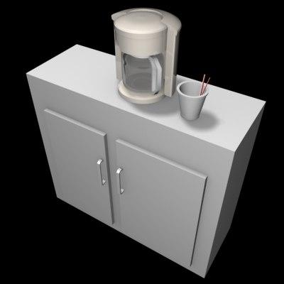 3ds max coffee pot