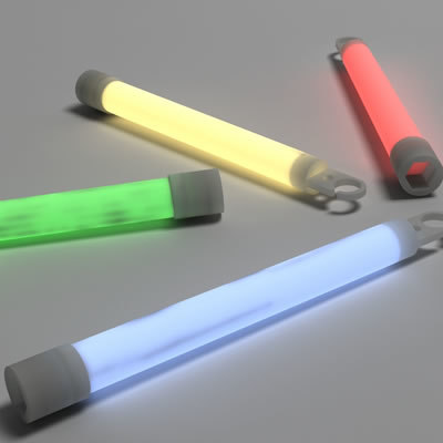 3ds max light stick