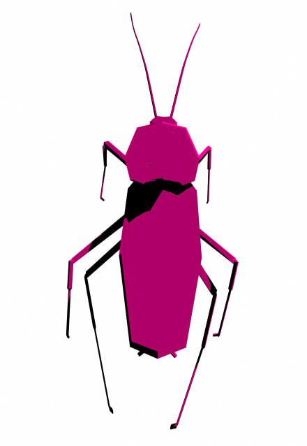 3d cockroach rig