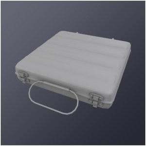 3dsmax steel pistol case