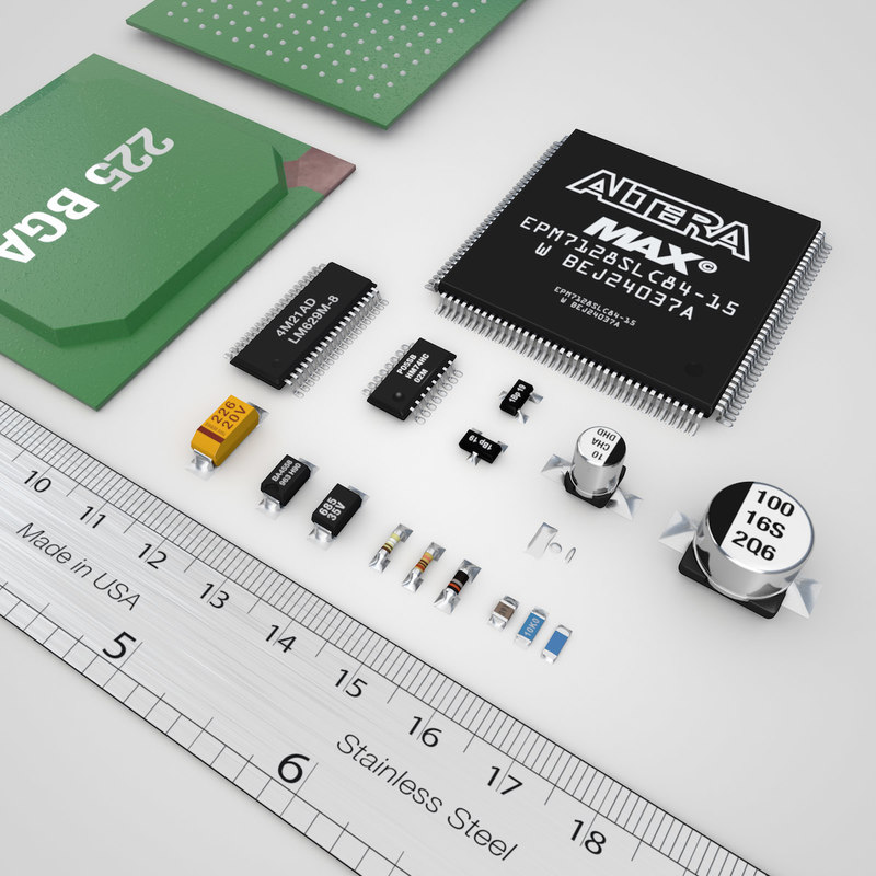 3d electronic components