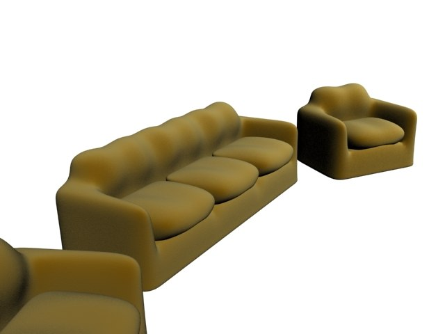 3ds max sofa arm-chairs