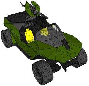 3d warthog