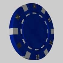 free poker chip 3d model