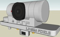 psp camera 3d model