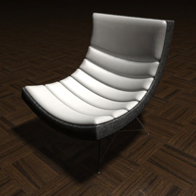 modern lounge chair - dwg
