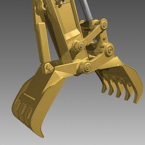 3d grapple arm