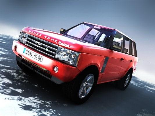 car range rover vogue lwo