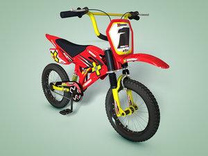 c4d bmx motocross bike