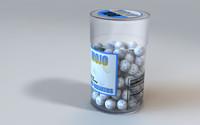 candy jawbreaker 3d model