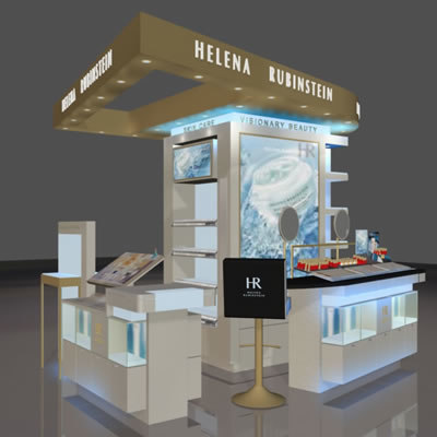3d model loreal hr stand