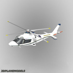 3d model agusta a-109e livery