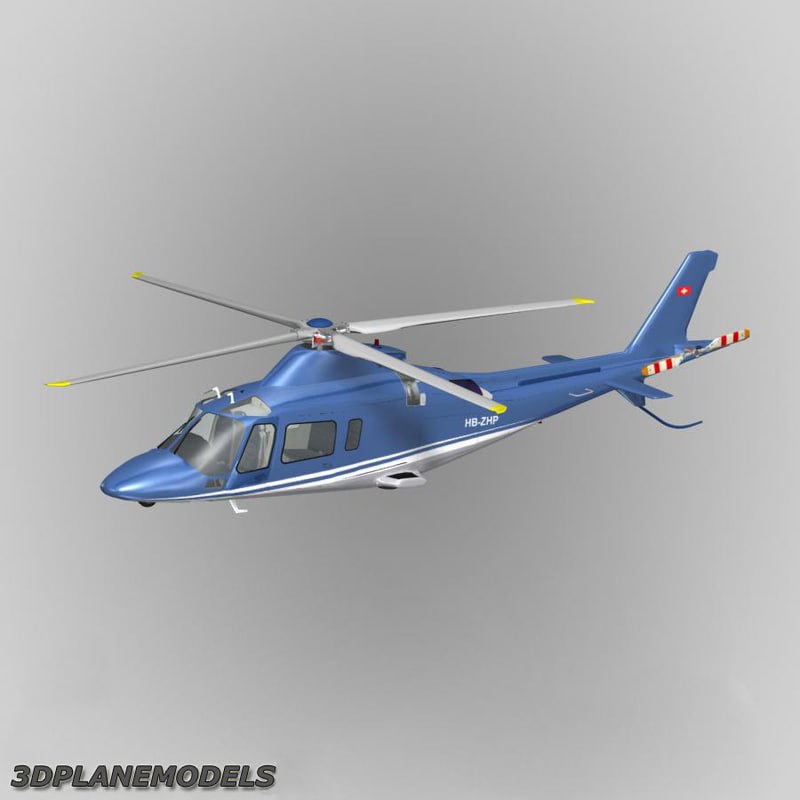 3ds max agusta a-109e private livery