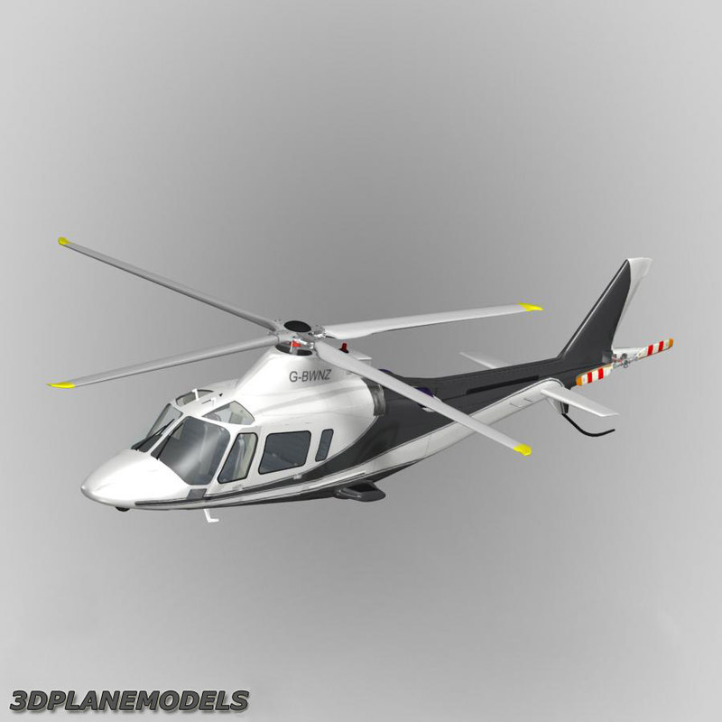 agusta a-109e private livery 3ds