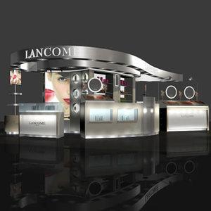 max loreal lancome stand