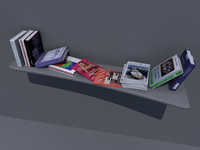 maya bookcase book