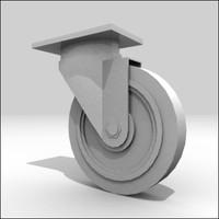 wheel roller 3d model