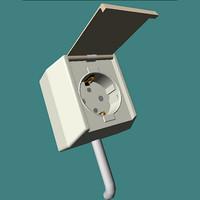outdoor electrical outlet 3ds
