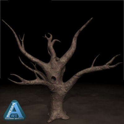 3ds max dead oak tree