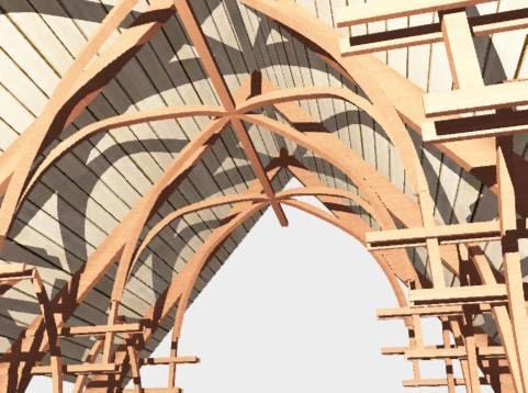 gothic arches 3d 3ds