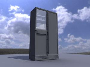 3d fridge model