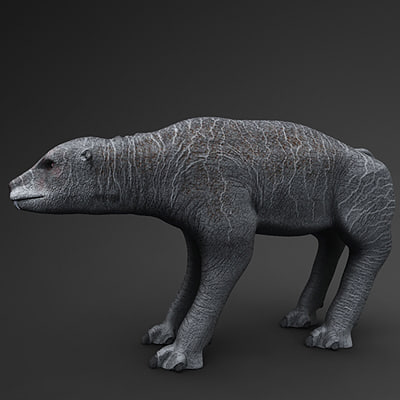 animal fantastic 3d obj