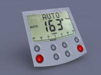 automatic pilot 3d model