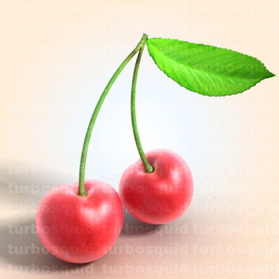 cherry ready casino 3d c4d