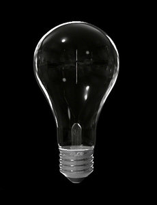 3d model light bulb incandescent