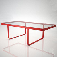 3d trace coffee table model