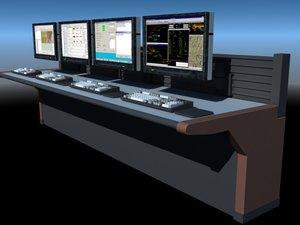 computers equipment 3d model