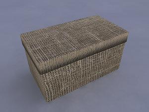 3d box case model