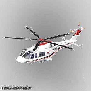 agusta westland aw-139 abu 3d model