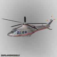 agusta westland aw-139 livery 3d model