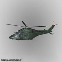 agusta westland aw-139 ireland 3d model