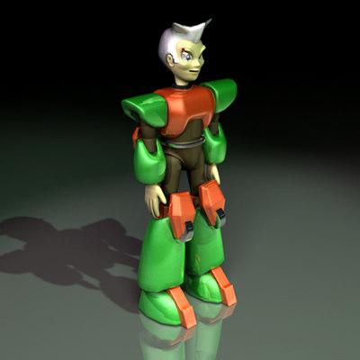 maya character metroboy