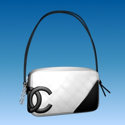 3ds chanel ligne designer bag