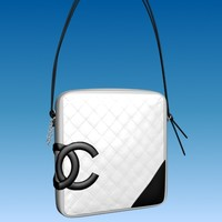 3d chanel ligne designer bag model