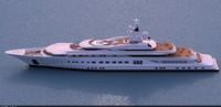 3ds max pelorus super yacht