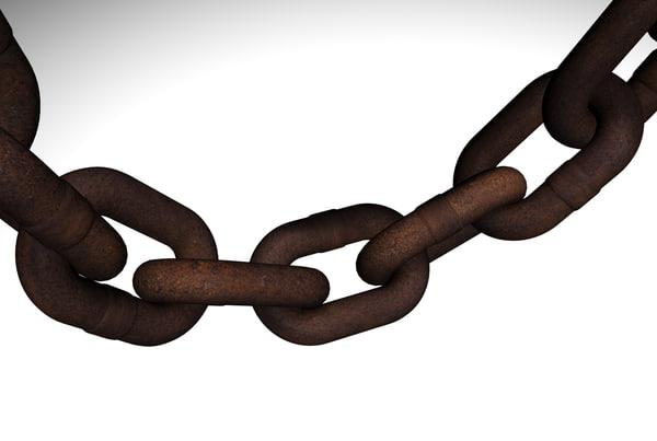 chain rust 3d model