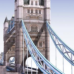 3d tower bridge