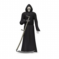 grim reaper 3ds+text