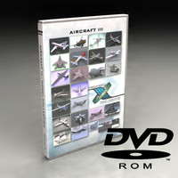 aircraft dvd iii 3d model